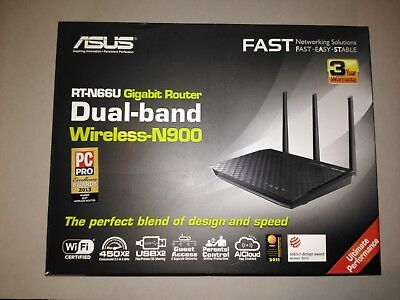 ASUS RT-N66U 450 Mbps Gigabit Wireless N Router **POSSIBLE FAULT** Please Read!