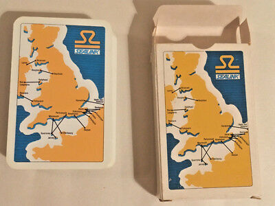 Playing cards full pack in box - Sealink logo -the brand of British Rail Ferries