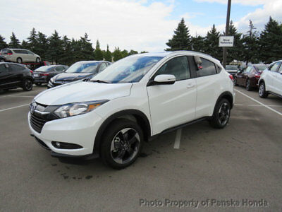 2018 Honda HR-V EX-L Navi AWD CVT EX-L Navi AWD CVT New 4 dr SUV CVT Gasoline 1.8L 4 Cyl White Orchid Pearl