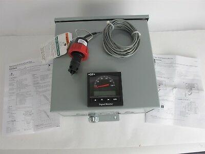 Fischer +GF+ Signet 3-5075 Totalizing Monitor w/Rotor-X Flow Sensor P51530-P0