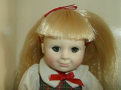 9-inch Cameo Katie doll, all vinyl with box, vintage 1984