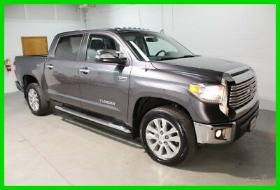 2014 Toyota Tundra CREWMAX LIMITED 2014 CREWMAX LIMITED Used 5.7L V8 32V Automatic 4WD
