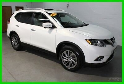 2014 Nissan Rogue SL 2014 Nissan Rogue SL  AWD Navigation Moonroof Leather 1 One Owner Clean Carfax
