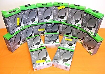 WHOLESALE LOT OF 18! PowerA Xbox One Chat Headset Gaming Microphone Mute Control