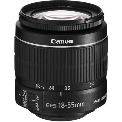 Canon EF-S 18-55mm f/3.5-5.6 IS II SLR Zoom Lens f/Canon Rebel T5  **BRAND NEW**