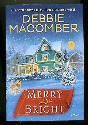 "Large Print  ""Merry and Bright""  by Debbie Macomber  (2017)  HB/DJ"