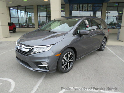 2018 Honda Odyssey Elite Automatic Elite Automatic New 4 dr Van Automatic Gasoline 3.5L V6 Cyl Modern Steel Metalli