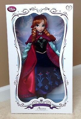 "Disney Anna Limited Edition Doll LE 17"" Snow Gear Nordic Disney Frozen"