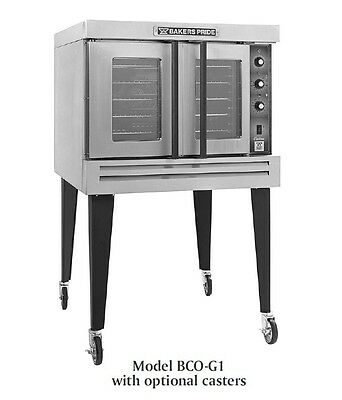 Cyclone Convection Oven, full-size, gas, single deck, Bakers Pride BCO-G1