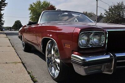 1974 Oldsmobile Delta Eighty eight Coupe Convertible Custom unique V8 455 Rocket