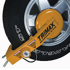 Trimax TWL100 Ultra-Max Adjustable Anti-Theft Wheel Lock Wheel Boot Security