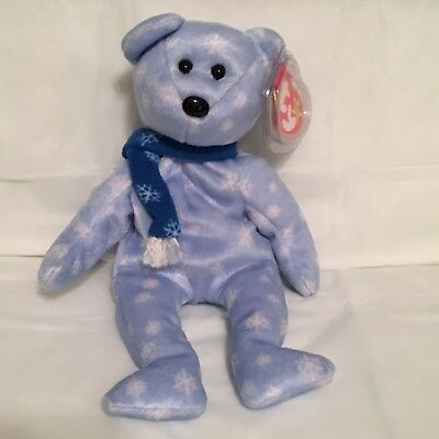 TY Beanie Baby - 1999 HOLIDAY Teddy Bear - Mint with Mint Tags -RETIRED