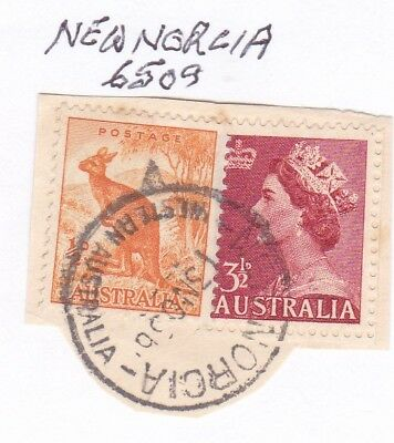 *WA POSTMARKS.NEW NORCIA.Type A26.On QE11 era.Rated3.*