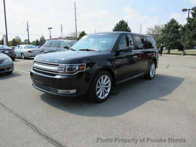 2017 Ford Flex LIMITED LIMITED 4 dr Automatic Gasoline 3.5L V6 Cyl BLACK