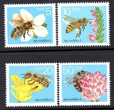 DDR. 1990. THE HONEY BEE SET. MINT. MNH. SEE PIC. ONLY 99p  B0908