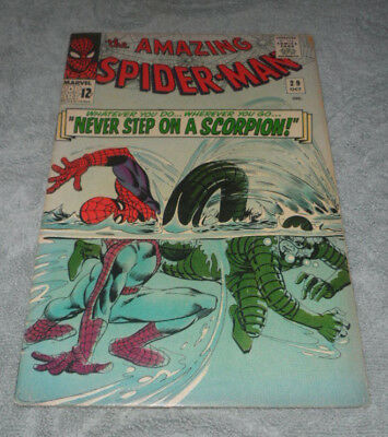 Amazing Spider-Man #29 (Silver Age Marvel)