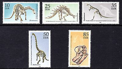 Ddr. 1990. Natural Science Museum Set. Mint. Mnh. See Pic. Cat £4.00  B0909