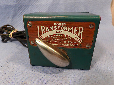 MARX No.1239 TRAIN TRANSFORMER 50 WATTS