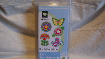 Cricut Cartridge - FLORALS EMBELLISHED - BRAND NEW!  Never Opened