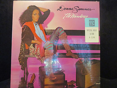 "Sealed/New LP, Donna Summer, ""The Wanderer"""