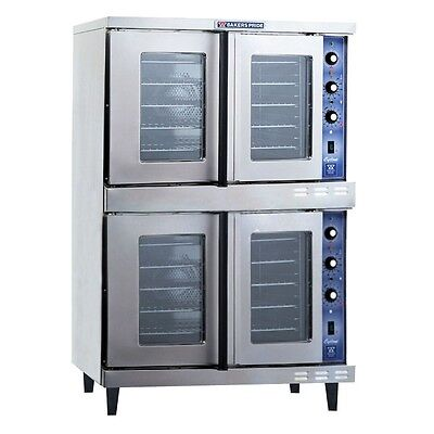Cyclone Convection Oven, full-size, electric, double deck, Bakers Pride GDCO-E2