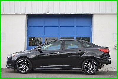 2015 Ford Focus SE Repairable Rebuildable Salvage Runs Great Project Builder Fixer Easy Fix Save