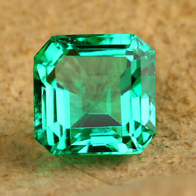 5.61CT10*10mmVVS Quadratisch Precious Green Loose Gemstone Gemstone For Jewelry