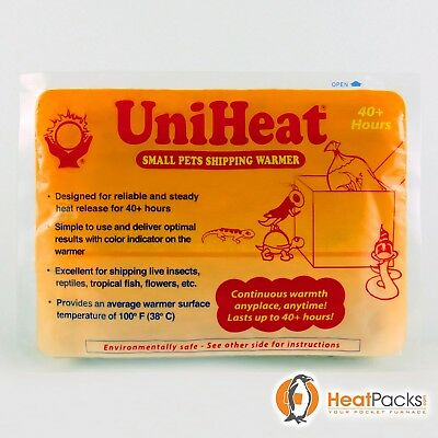 UNIHEAT 40 HR (20 Piece Lot) SHIPPING WARMER - FRESH HEAT PACKS, LASTS 40 HOURS!
