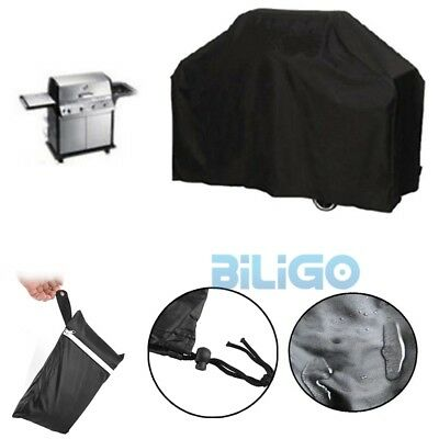 4 Burner BBQ Grill Cover Waterproof Outdoor UV Gas Charcoal Barbecue Protector