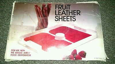 ~10 Magic Aire Dehydrator~Fruit Leather Sheets~ Replacement Parts~