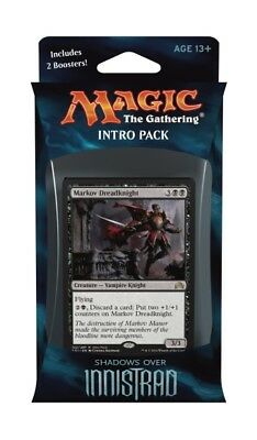 60-Card Vampiric Thirst Shadows over Innistrad intro Pack Deck | 2 booster MTG