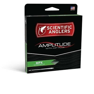 Scientific Anglers Amplitude MPX Tapered Fly Line - Optic Green/Turtle Grass/Buc