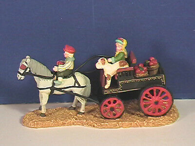 Dept 56 BACK FROM THE ORCHARD w/box Seasons Bay Village Combine Shipping!