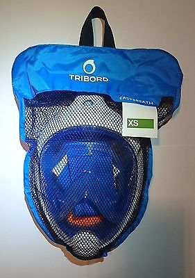 Tribord Easybreath Snorkeling Mask, BLUE, size XS, brandnew & flawless!