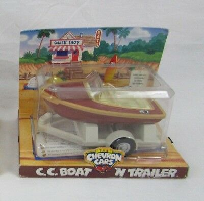 The Chevron Cars C.C Boat N Trailor Never Opened