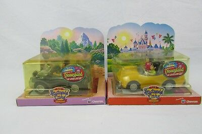 The Chevron Cars Disneyland Autopia Cars lot 2 Never Opened