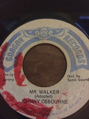 "Original Ja Gorgon Records"" Johnny Osbourne "" Mr Walker"""