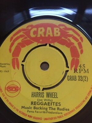 "Original Uk Crab 1969"" Reggaeites"" Harris Wheel"""