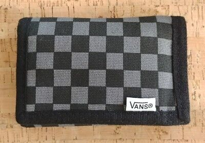Boys Girls VANS Off the Wall Checker Wallet Barely Used