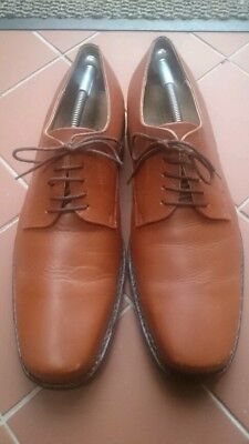 Mens Harrykson brown leather shoes