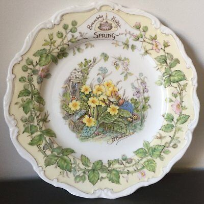Brambley Hedge Collectors 4 Seasons Plates