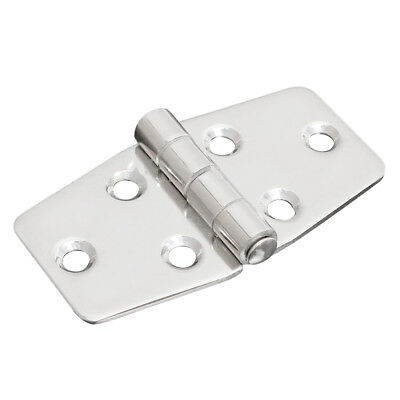 "1x 3"" Stainless Steel Boat Marine Grade Flush Compartment Hinges Silver N5W V3E3"