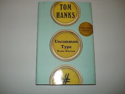 Signed Uncommon Type Tom Hanks First Edition First Print
