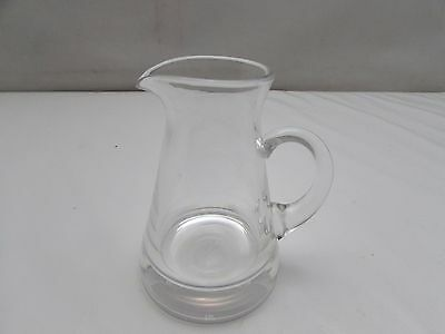 Royal Doulton Lead Crystal Glass Jug 14cm