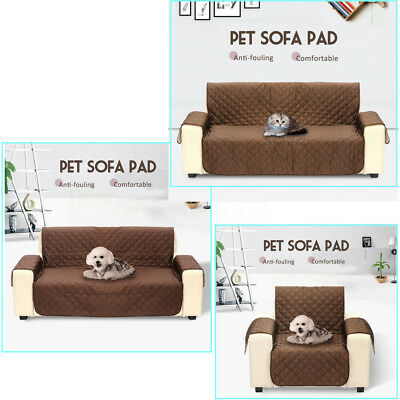 Pet Dog Sofa Settee Furniture Throw Couch Slip Cover Pad Protector 1/2/3 Seat