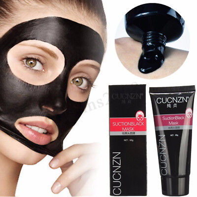 LuckyFine Masque Charbon Boue Peel Off Anti Point Noir Acné Nettoyage Black Mask