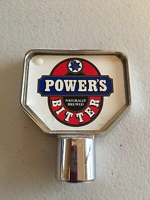 Powers Rare Sticker Beer Tap Top