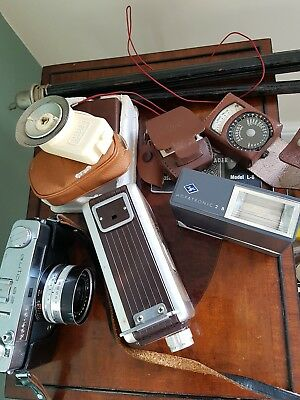 Job lot photography equipment inc Brownie movie camera