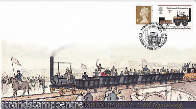 2005 Stockton & Darlington Railway 180th Anniv - Buckingham 'Railway' Series Cvr