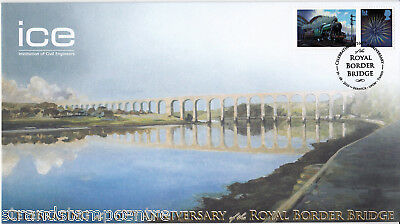 2010 The Royal Border Bridge 160th Anniversary - Buckingham 'Railway' Series Cvr